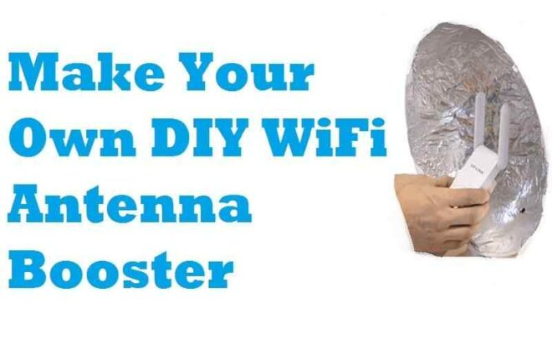 DIY WiFi Antenna Booster