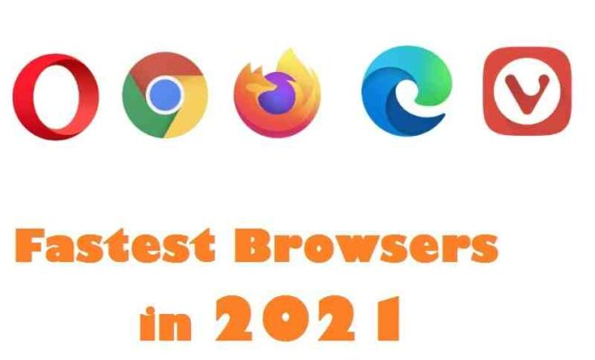 Fastest Browsers
